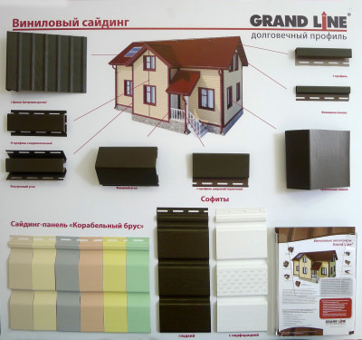 Cайдинг виниловый Grand Line: цена, виды, характеристики и отзывы