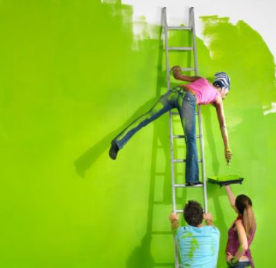 Краска фасадная всесезонная Dali: характеристики, особенности, нанесение