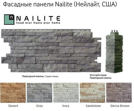 Nailite фасадные панели: коллекции, преимущества, монтаж, компании, цены